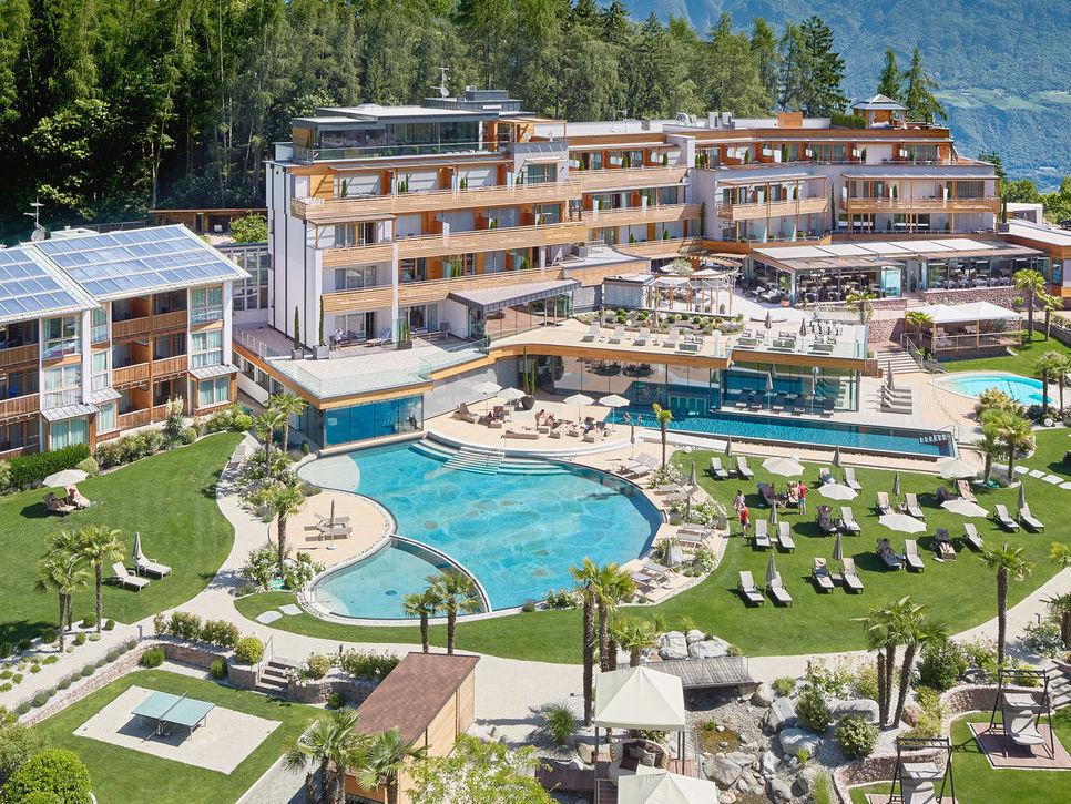 Architektur Garten Im 4 Sterne Hotel Bei Meran