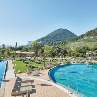 Water world at the Dolce Vita Hotel Alpiana in Lana