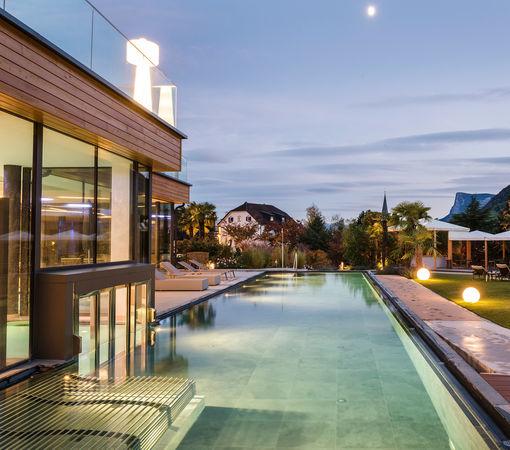 Spa welten wellness im alpiana resort bei meran for Hotel in lana sudtirol