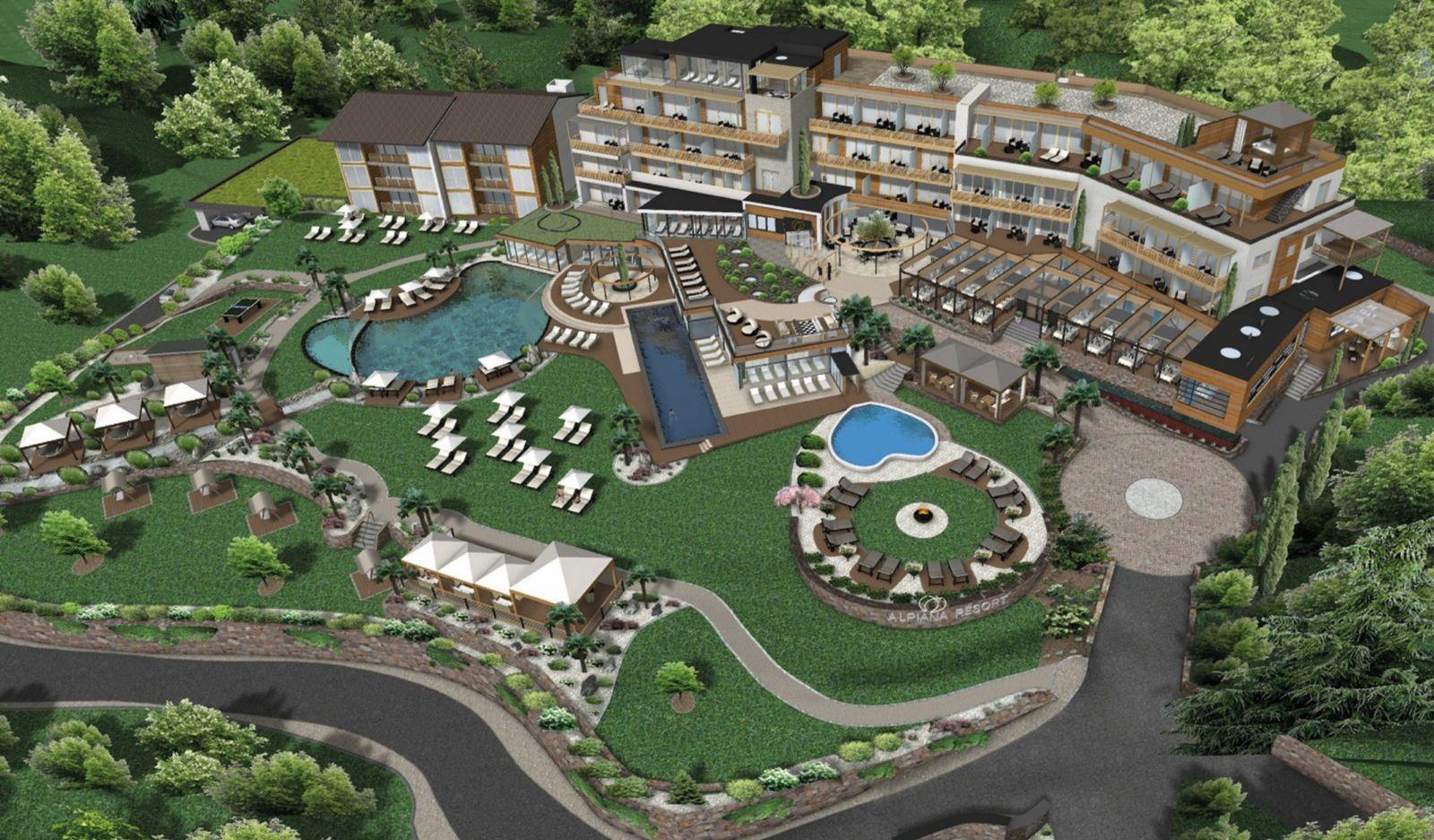 resortplan wellness hotel alpiana resort lana meran. Black Bedroom Furniture Sets. Home Design Ideas