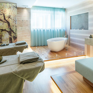 Private Spa at the Dolce Vita Hotel ALPIANA RESORT in South Tyrol